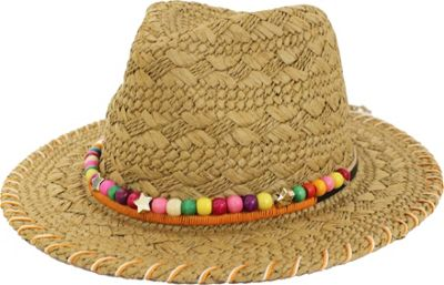 FITS Island Panama Hat One Size - Natural - FITS Hats