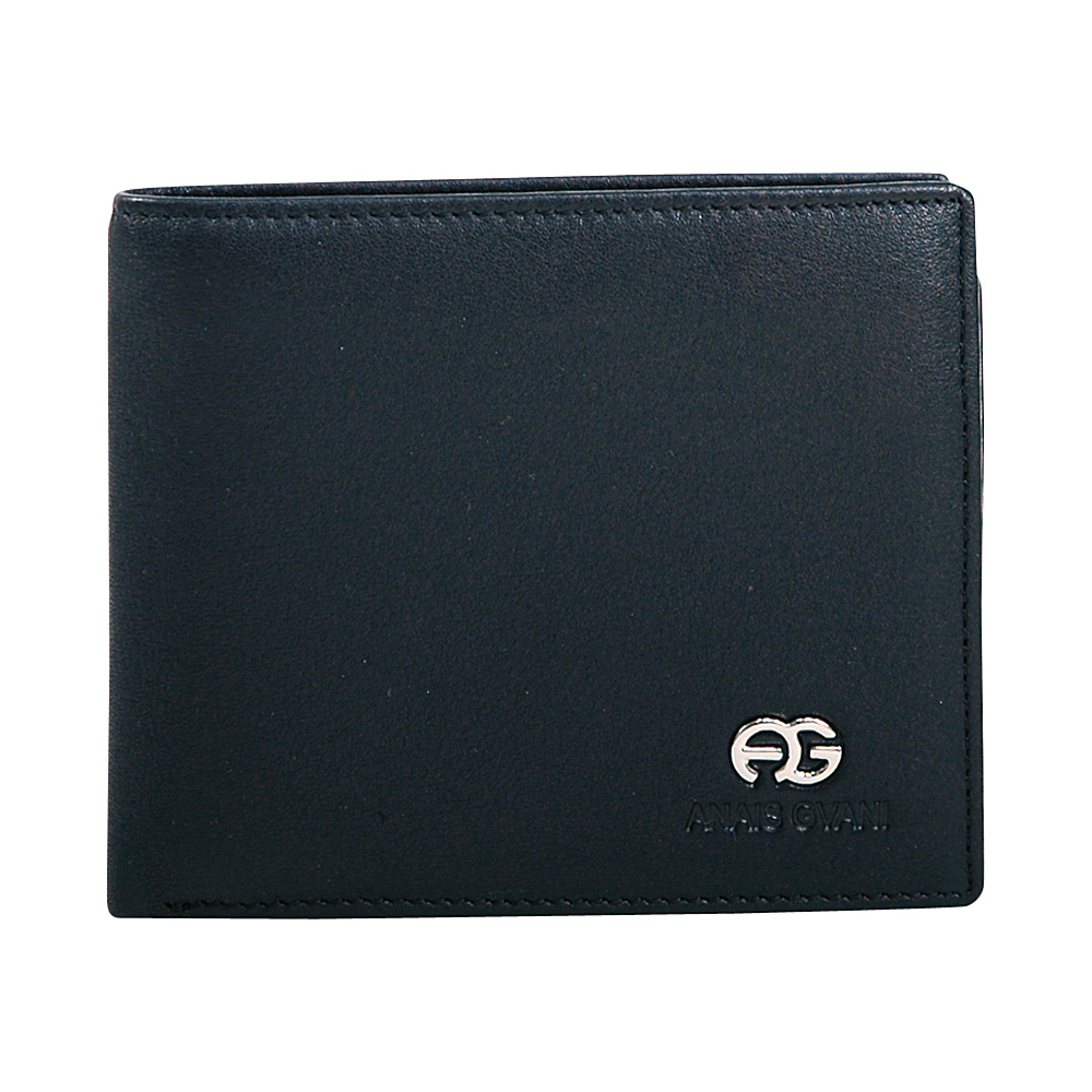 Dasein Mens Genuine Smooth Leather Wallet Black - Dasein Mens Wallets - Work Bags & Briefcases, Men's Wallets