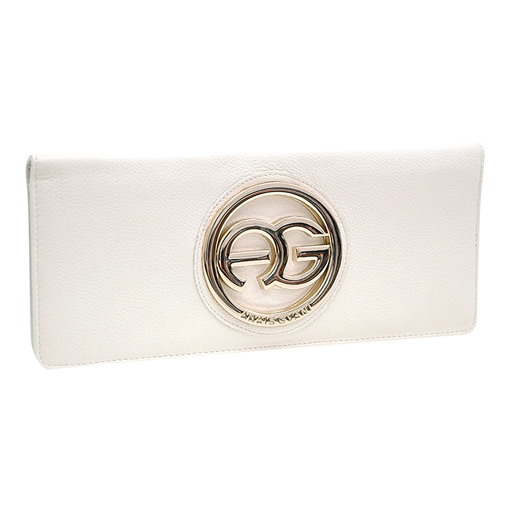 Dasein Womens Clutch Style Bifold Wallet White - Dasein Womens Wallets - Women's SLG, Women's Wallets