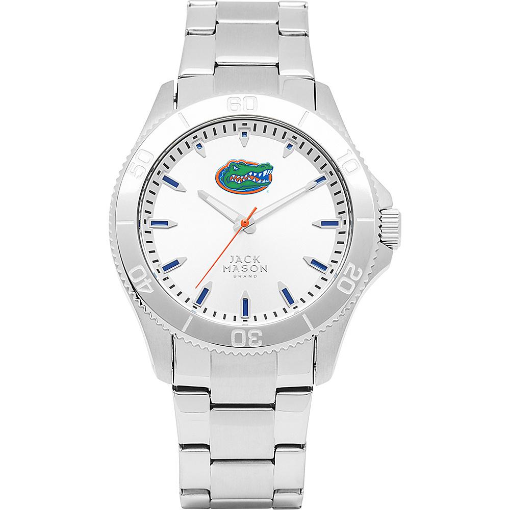 Jack Mason League NCAA Silver Dial Bracelet Watch Florida Gators - Jack Mason League Watches - Fashion Accessories, Watches