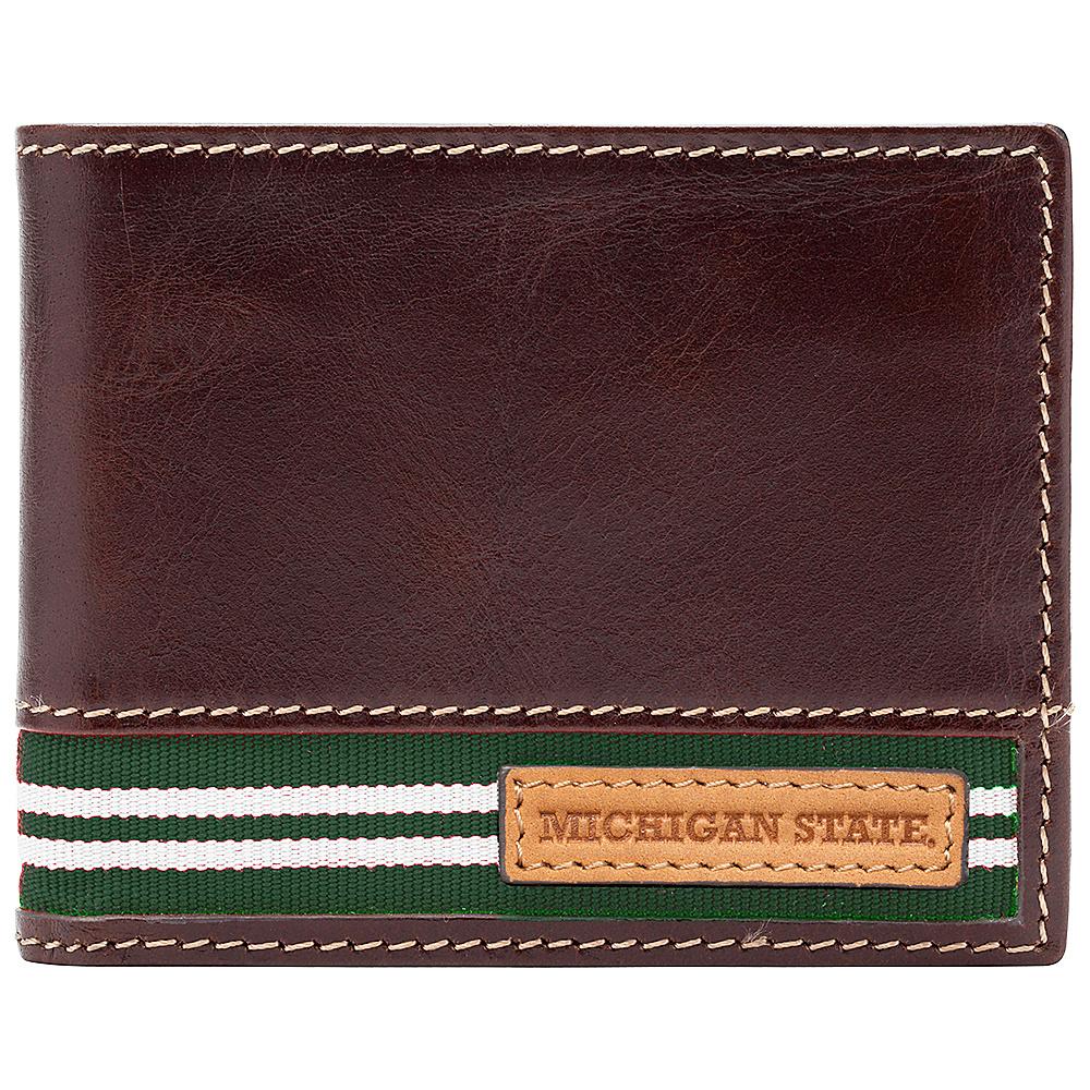 Jack Mason League NCAA Tailgate Traveler Michigan State Spartans - Jack Mason League Mens Wallets - Work Bags & Briefcases, Men's Wallets