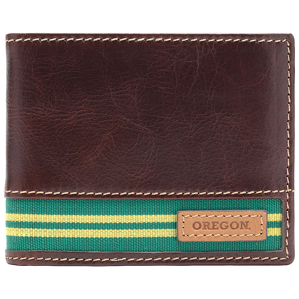 Jack Mason League NCAA Tailgate Traveler Oregon Ducks - Jack Mason League Mens Wallets - Work Bags & Briefcases, Men's Wallets