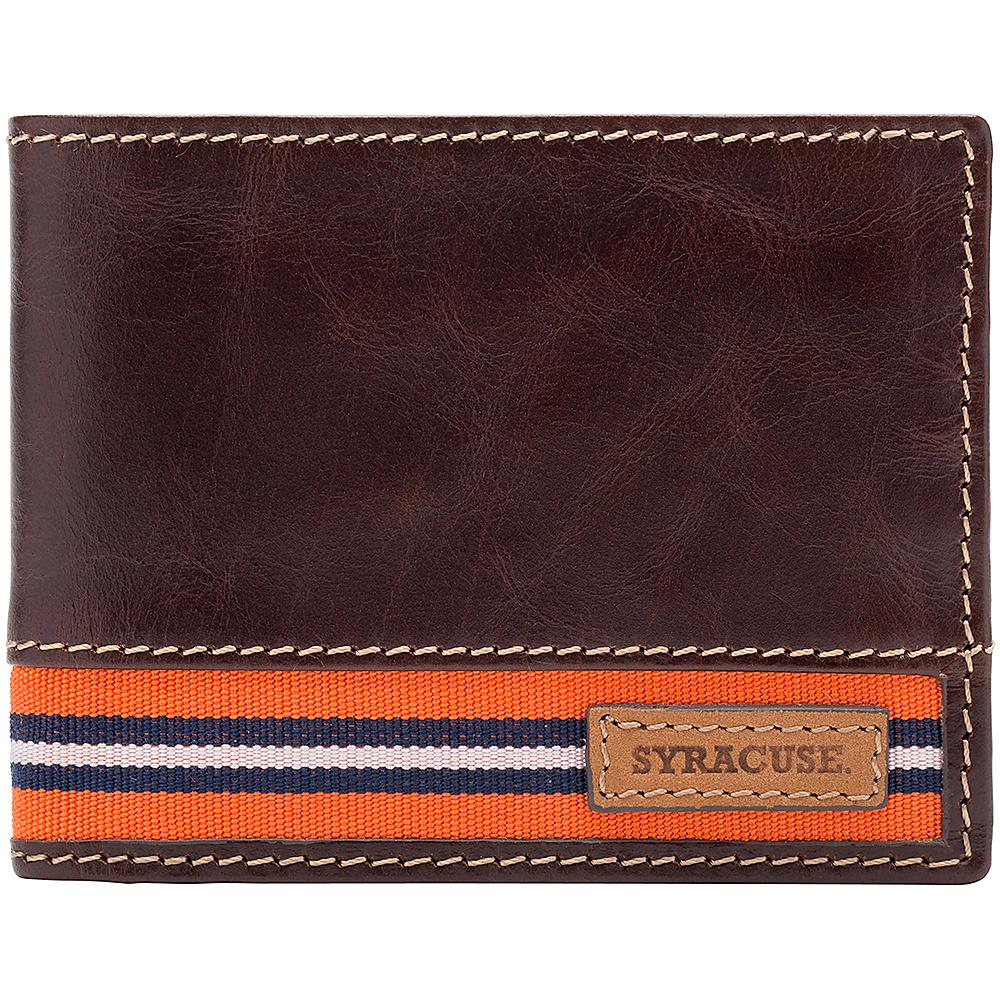 Jack Mason League NCAA Tailgate Traveler Syracuse Orange - Jack Mason League Mens Wallets - Work Bags & Briefcases, Men's Wallets