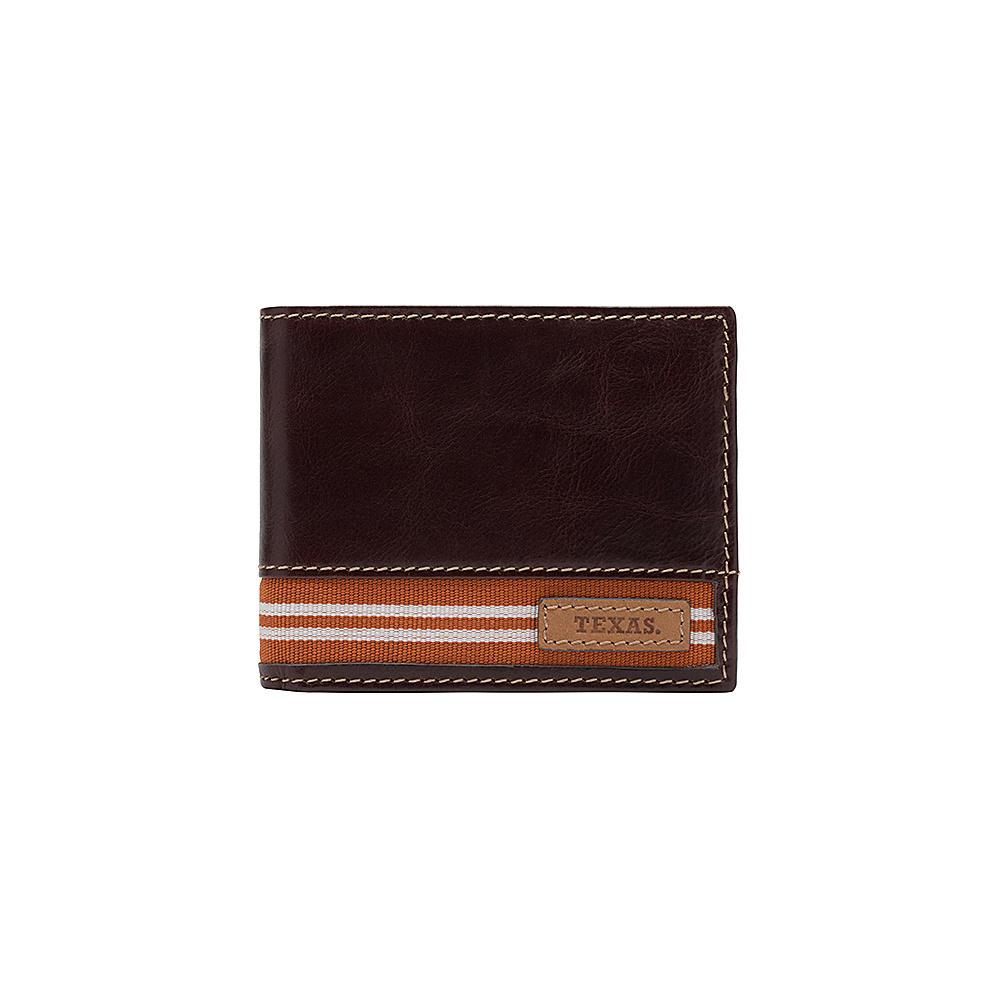 Jack Mason League NCAA Tailgate Traveler Texas Longhorns - Jack Mason League Mens Wallets - Work Bags & Briefcases, Men's Wallets