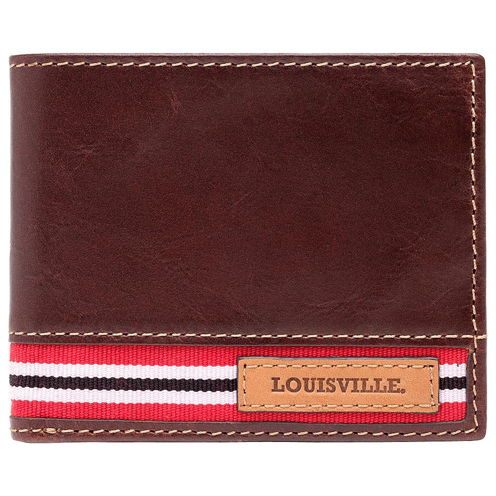 Jack Mason League NCAA Tailgate Traveler Louisville Cardinals - Jack Mason League Mens Wallets - Work Bags & Briefcases, Men's Wallets