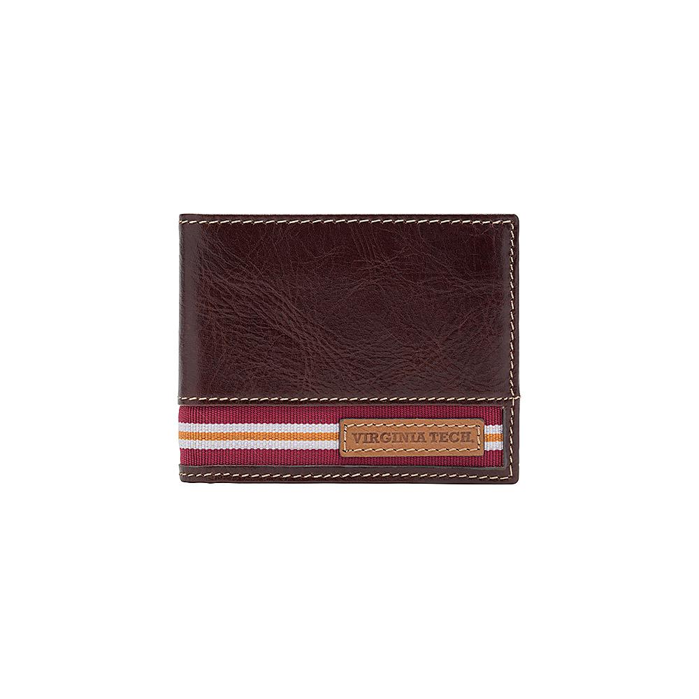 Jack Mason League NCAA Tailgate Traveler Virginia Tech Hokies - Jack Mason League Mens Wallets - Work Bags & Briefcases, Men's Wallets