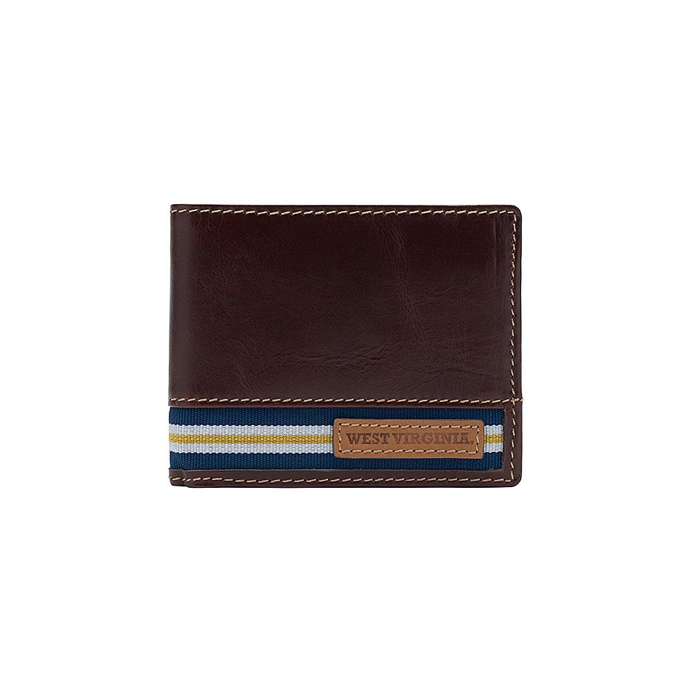 Jack Mason League NCAA Tailgate Traveler West Virginia Mountaineers - Jack Mason League Mens Wallets - Work Bags & Briefcases, Men's Wallets