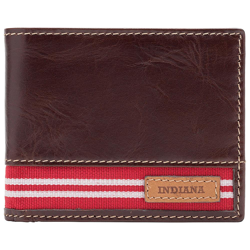 Jack Mason League NCAA Tailgate Traveler Indiana Hoosiers - Jack Mason League Mens Wallets - Work Bags & Briefcases, Men's Wallets