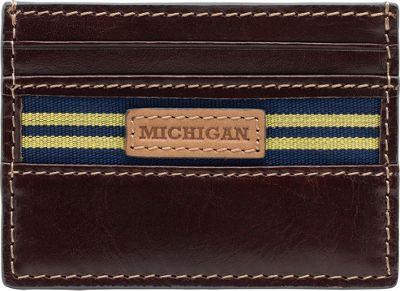 Jack Mason League NCAA Tailgate Card Case Michigan Wolverines - Jack Mason League Men's Wallets
