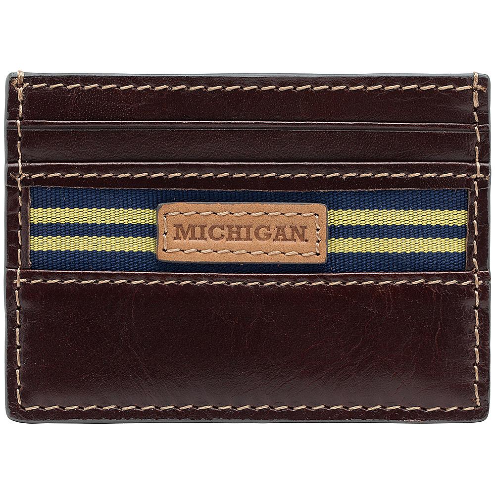 Jack Mason League NCAA Tailgate Card Case Michigan Wolverines - Jack Mason League Mens Wallets - Work Bags & Briefcases, Men's Wallets