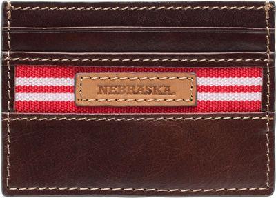 Jack Mason League NCAA Tailgate Card Case Nebraska Cornhuskers - Jack Mason League Men's Wallets
