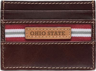 Jack Mason League NCAA Tailgate Card Case Ohio State Buckeyes - Jack Mason League Men's Wallets