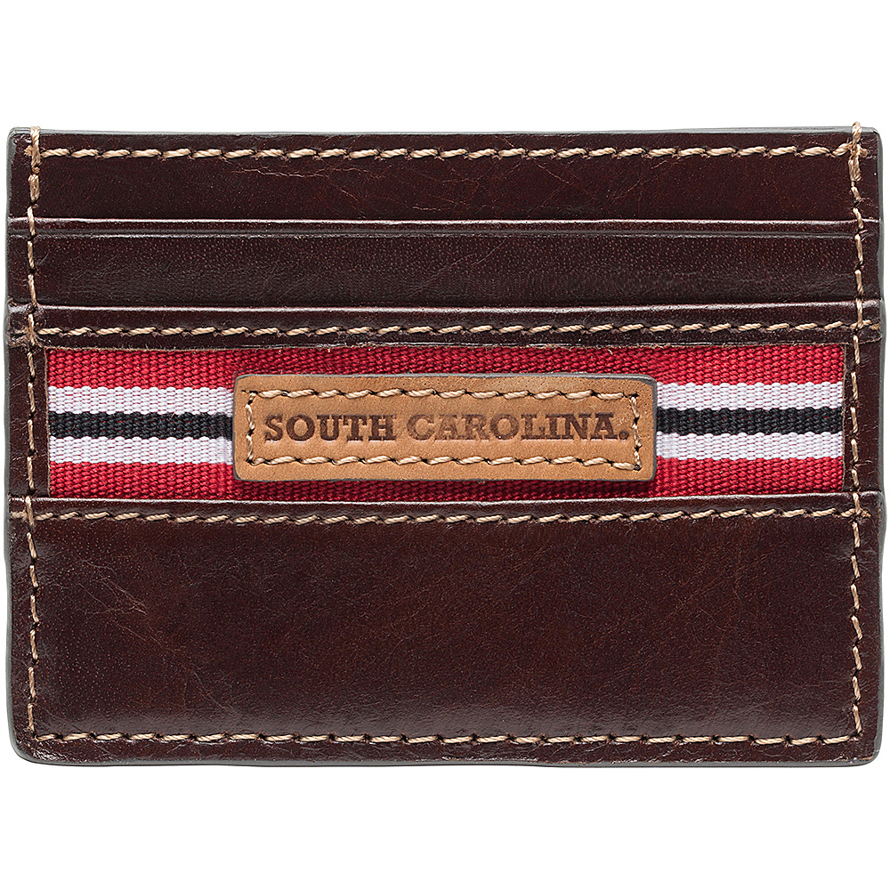 Jack Mason League NCAA Tailgate Card Case South Carolina Gamecocks - Jack Mason League Mens Wallets - Work Bags & Briefcases, Men's Wallets