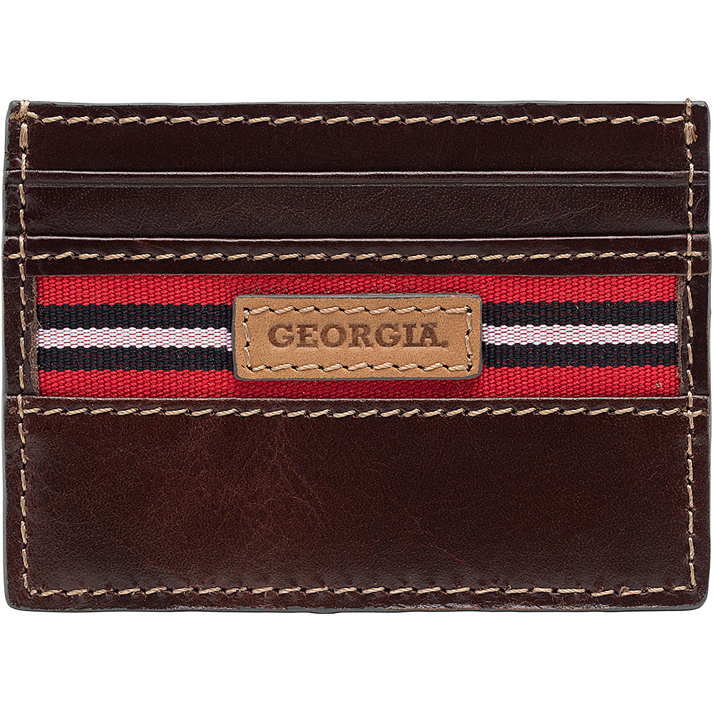 Jack Mason League NCAA Tailgate Card Case Georgia Bulldogs - Jack Mason League Mens Wallets - Work Bags & Briefcases, Men's Wallets