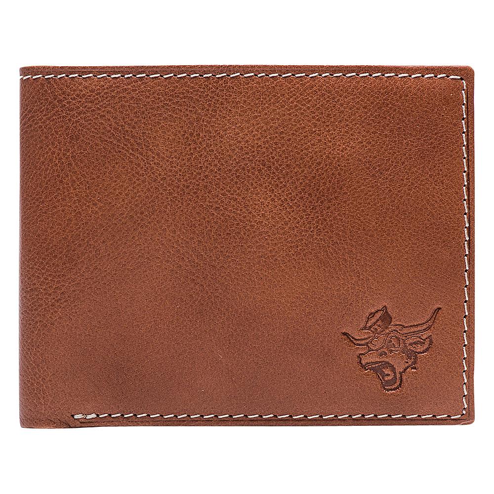 Jack Mason League NCAA Heritage Bifold Texas Longhorns - Jack Mason League Mens Wallets - Work Bags & Briefcases, Men's Wallets