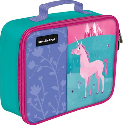 Crocodile Creek Inc Unicorn Classic Lunchbox Unicorn - Crocodile Creek Inc Travel Coolers