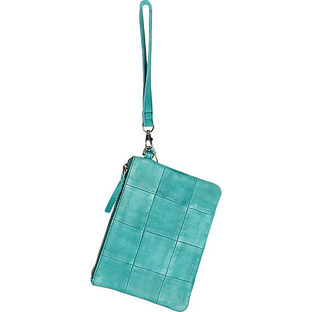 Latico Leathers Noelle Clutch Mint - Latico Leathers Leather Handbags - Handbags, Leather Handbags