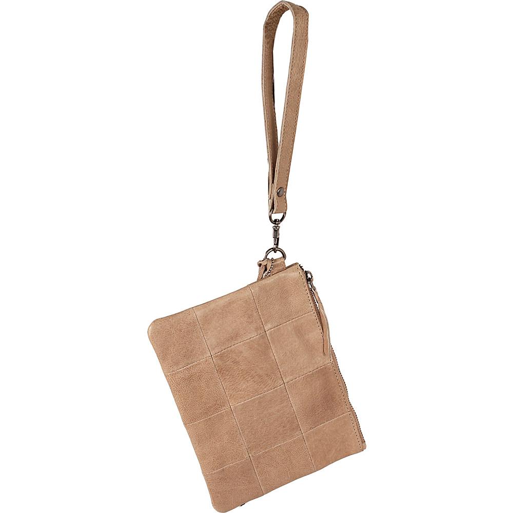 Latico Leathers Noelle Clutch Oat - Latico Leathers Leather Handbags - Handbags, Leather Handbags