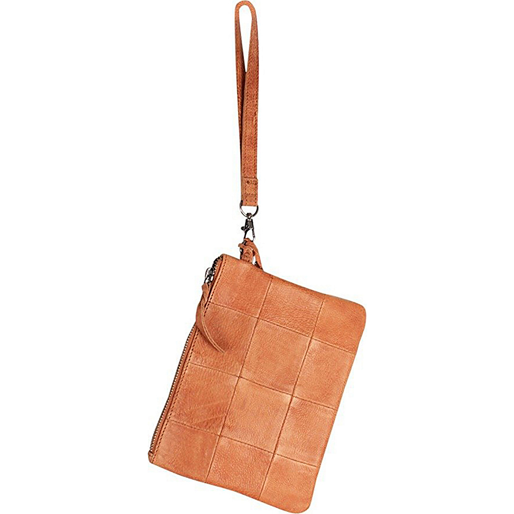 Latico Leathers Noelle Clutch Tan - Latico Leathers Leather Handbags - Handbags, Leather Handbags