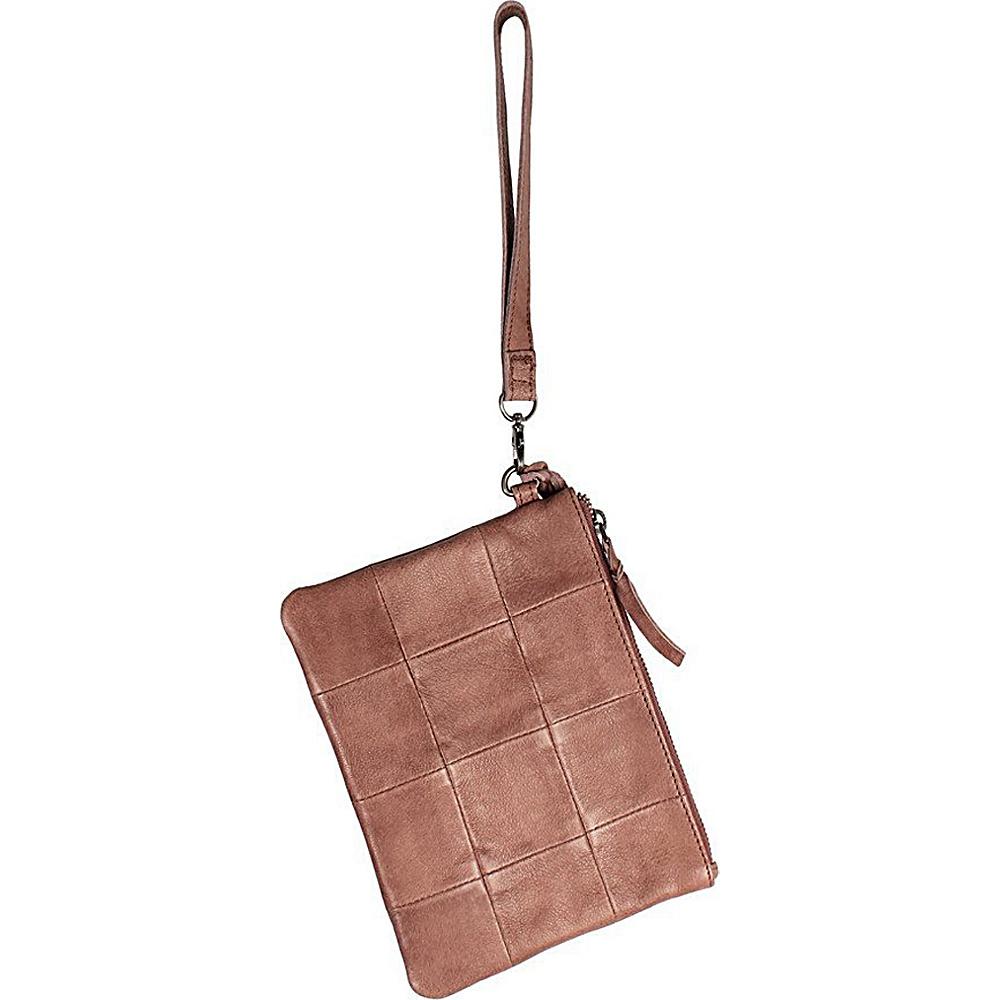 Latico Leathers Noelle Clutch Taupe - Latico Leathers Leather Handbags - Handbags, Leather Handbags