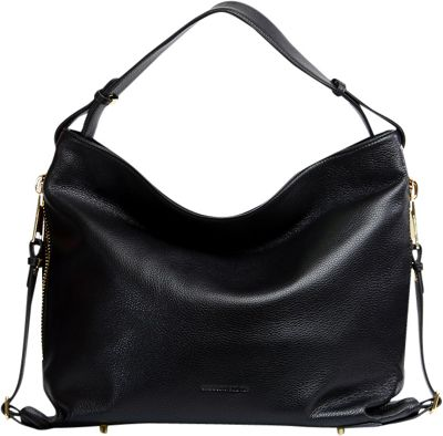 Gregory Sylvia Hillis Hobo Black - Gregory Sylvia Leather Handbags