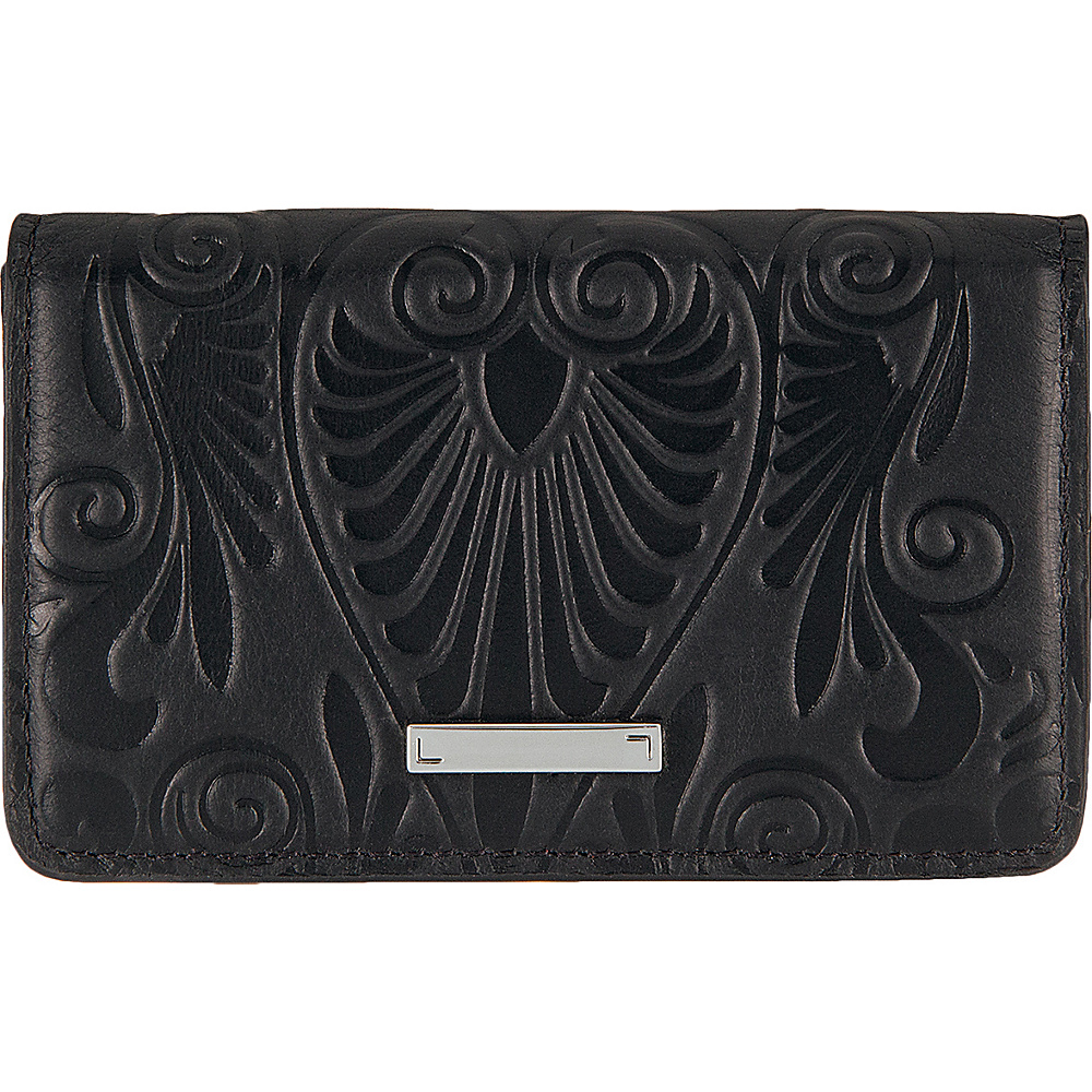 Lodis Denia Mini Card Case Black - Lodis Womens Wallets - Women's SLG, Women's Wallets