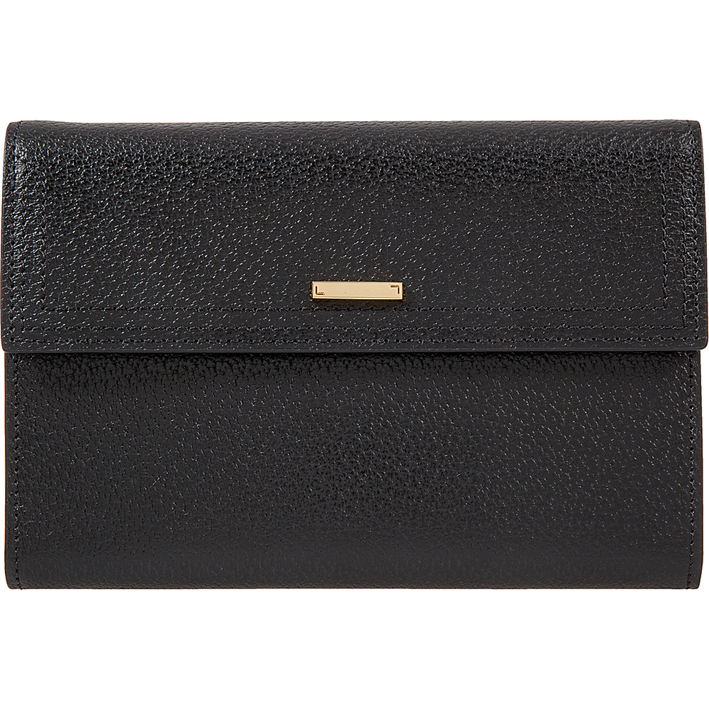 Lodis Stephanie Under Lock & Key Nona Phone Easel Wallet Black - Lodis Womens Wallets - Women's SLG, Women's Wallets