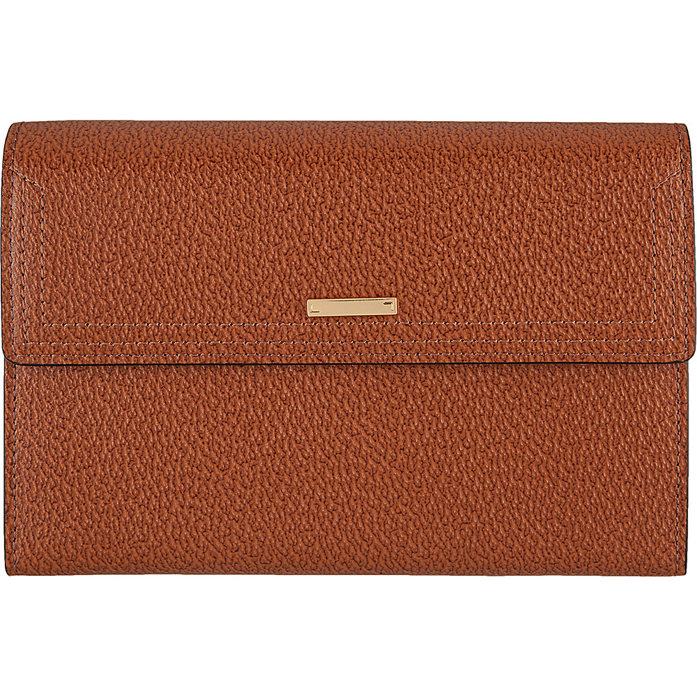 Lodis Stephanie Under Lock & Key Nona Phone Easel Wallet Chestnut - Lodis Womens Wallets - Women's SLG, Women's Wallets