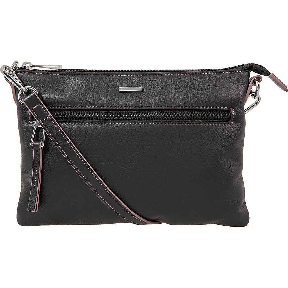 Lodis Mill Valley Under Lock & Key Kala Convertible Crossbody Black - Lodis Leather Handbags - Handbags, Leather Handbags