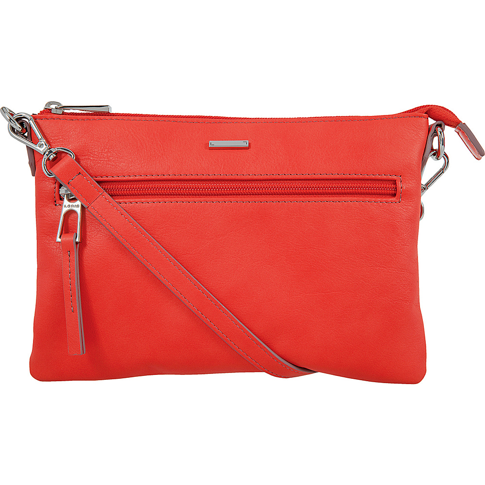 Lodis Mill Valley Under Lock & Key Kala Convertible Crossbody Coral - Lodis Leather Handbags - Handbags, Leather Handbags