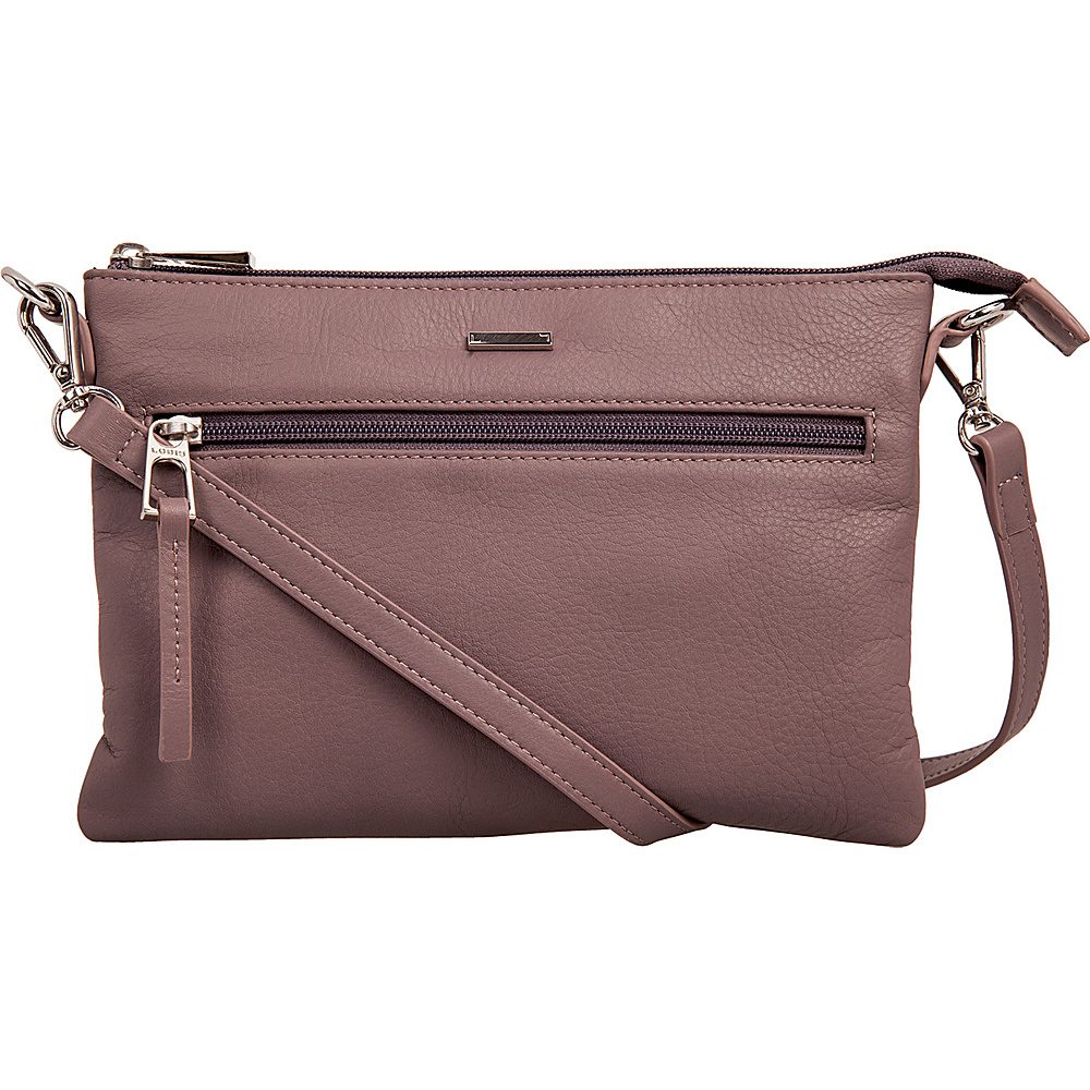 Lodis Mill Valley Under Lock & Key Kala Convertible Crossbody Lilac - Lodis Leather Handbags - Handbags, Leather Handbags