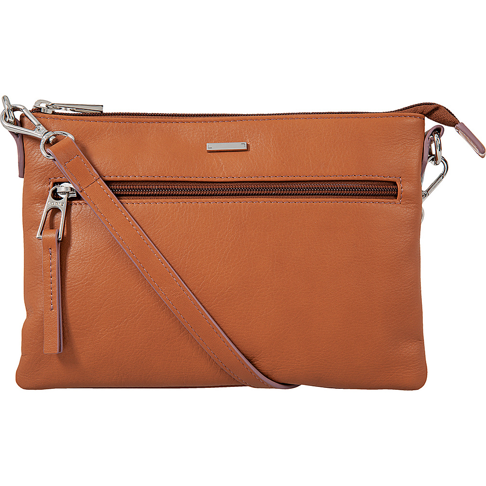 Lodis Mill Valley Under Lock & Key Kala Convertible Crossbody Toffee - Lodis Leather Handbags - Handbags, Leather Handbags