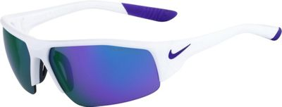 Nike Sunglasses Skylon Ace XV R Sunglasses White/Dark Concord - Nike Sunglasses Eyewear