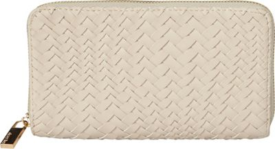 deux lux Bond Zip Wallet Ecru - deux lux Women's Wallets