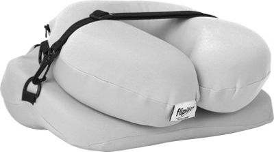 Flipillow the Most Versatile Pillow The Most Versatile Pillow Gray - Flipillow the Most Versatile Pillow Travel Comfort and Health