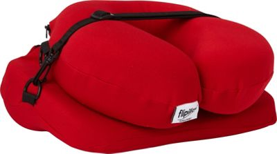 Flipillow the Most Versatile Pillow The Most Versatile Pillow Red - Flipillow the Most Versatile Pillow Travel Comfort and Health