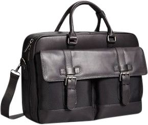 Kenneth Cole New York Business Top Zip 15.0 inch Laptop Convertible Portfolio/Backpack Black - Kenneth Cole New York Business Electronic Cases