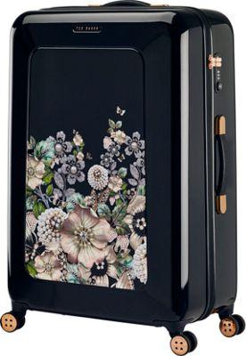Ted Baker Luggage Gem Garden Large Hardside Spinner Luggage Black - Ted Baker Luggage Large Rolling Luggage