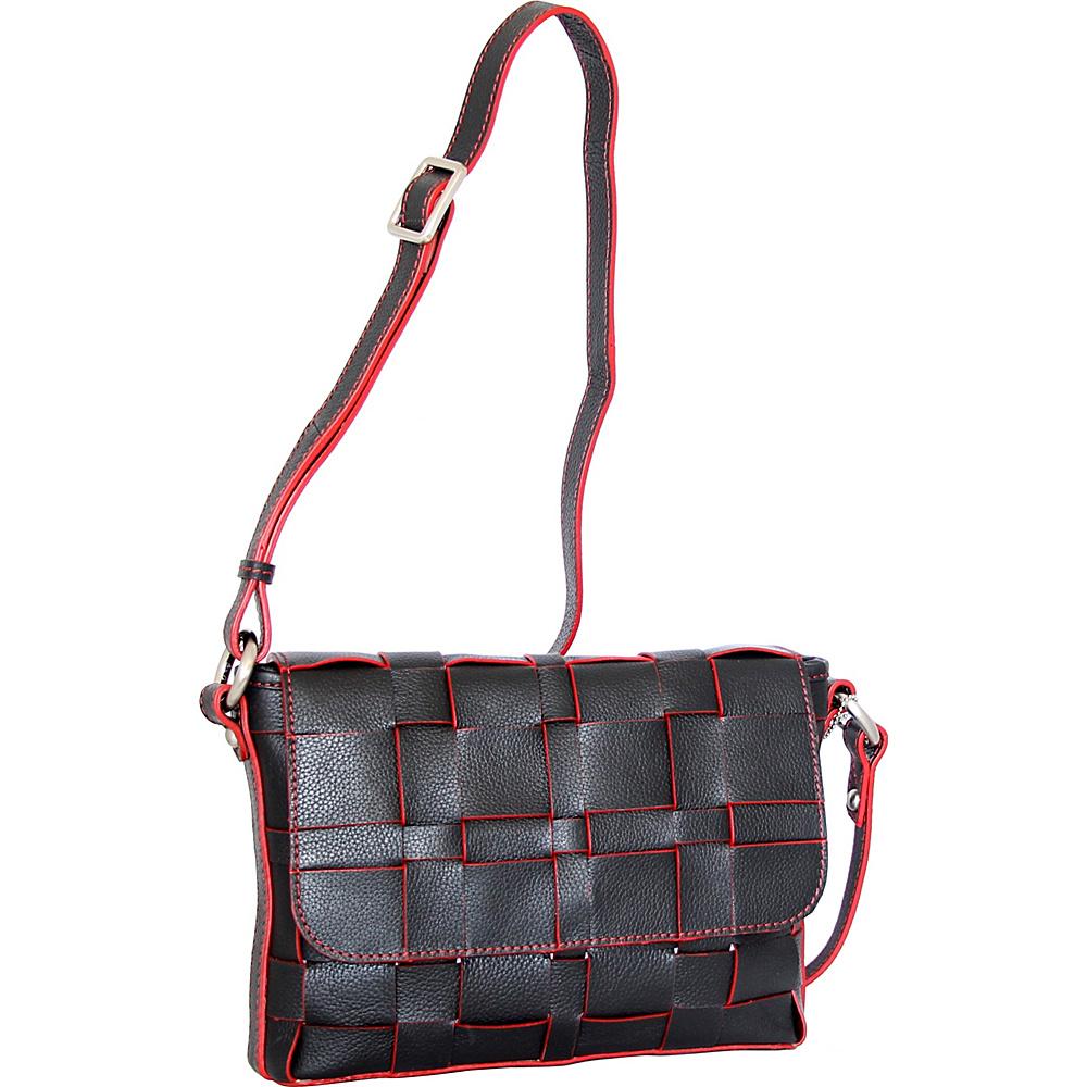 Nino Bossi Christina Crossbody Black - Nino Bossi Leather Handbags - Handbags, Leather Handbags