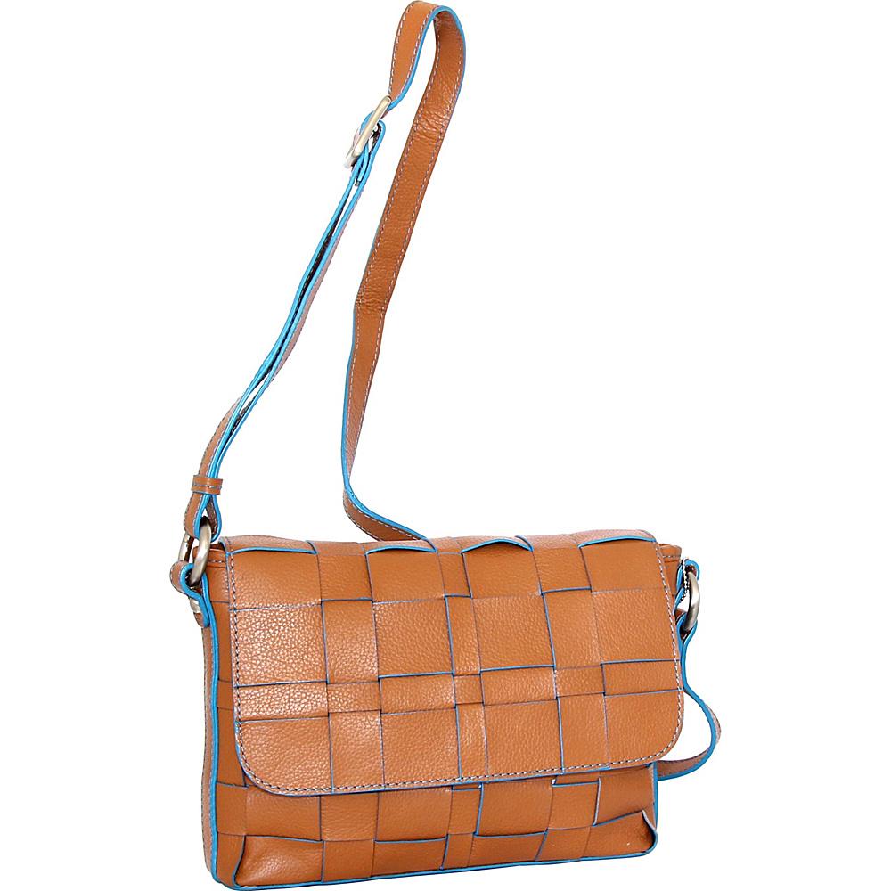 Nino Bossi Christina Crossbody Cognac - Nino Bossi Leather Handbags - Handbags, Leather Handbags