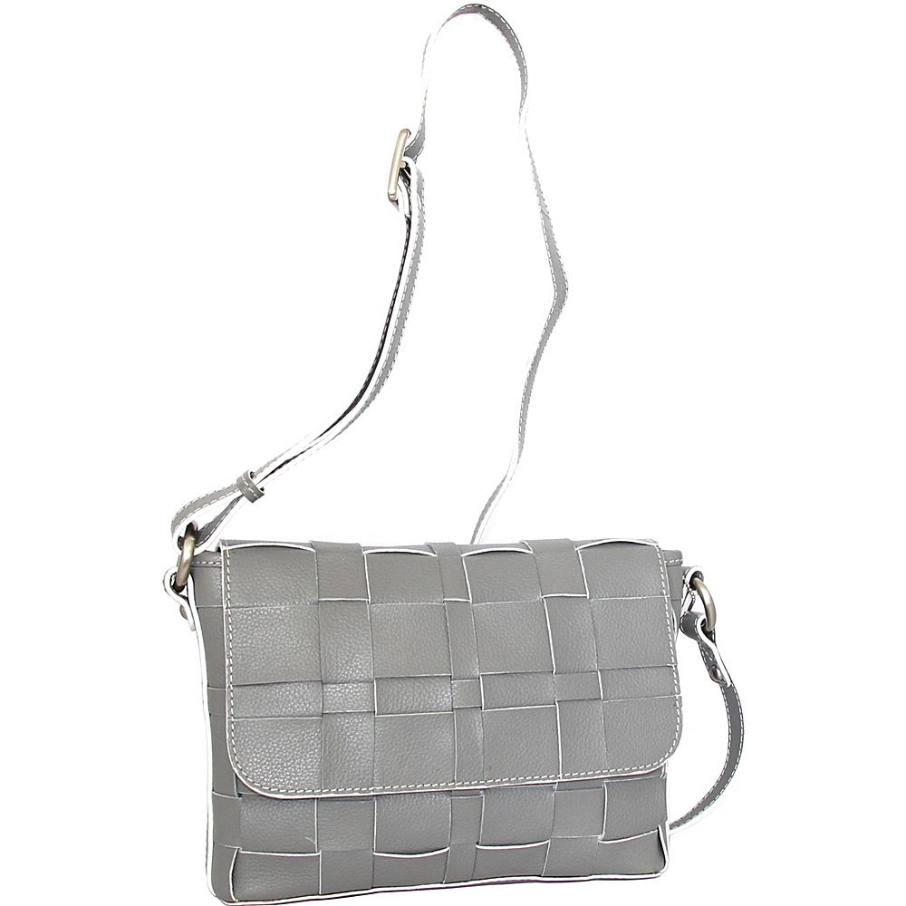 Nino Bossi Christina Crossbody Stone - Nino Bossi Leather Handbags - Handbags, Leather Handbags