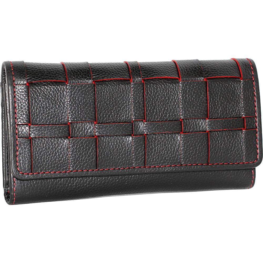 Nino Bossi Winona Wallet Black - Nino Bossi Designer Handbags - Handbags, Designer Handbags