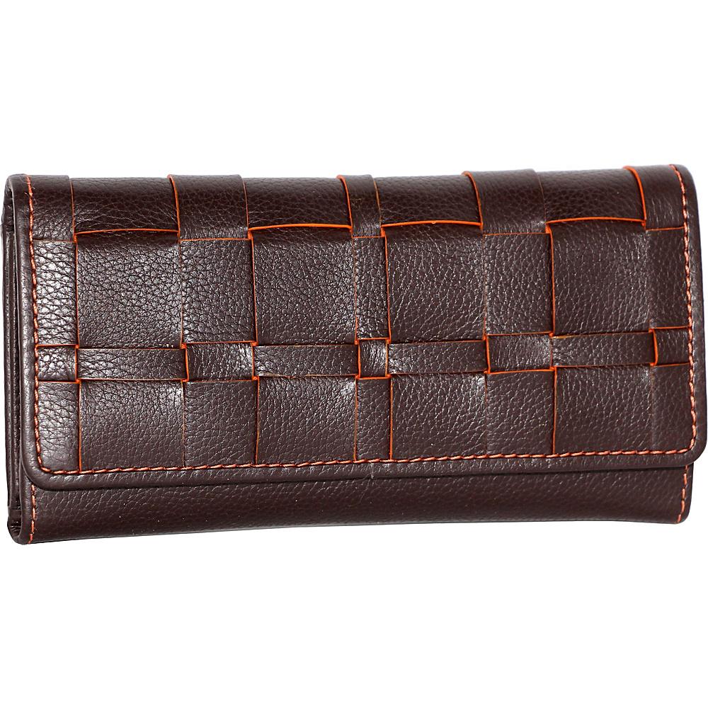 Nino Bossi Winona Wallet Chocolate - Nino Bossi Designer Handbags - Handbags, Designer Handbags