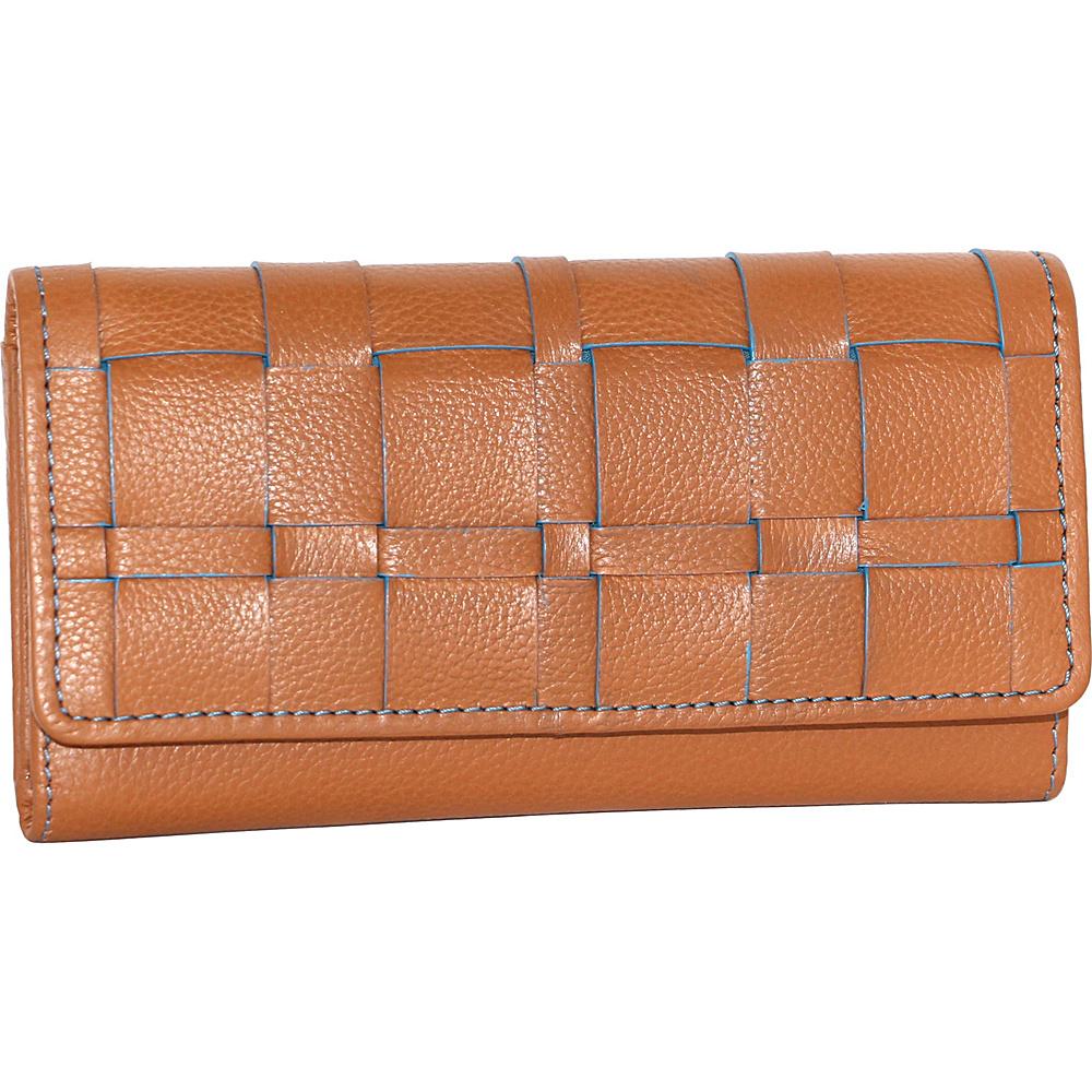 Nino Bossi Winona Wallet Cognac - Nino Bossi Designer Handbags - Handbags, Designer Handbags
