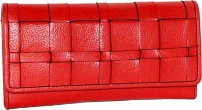 Nino Bossi Winona Wallet Red - Nino Bossi Designer Handbags
