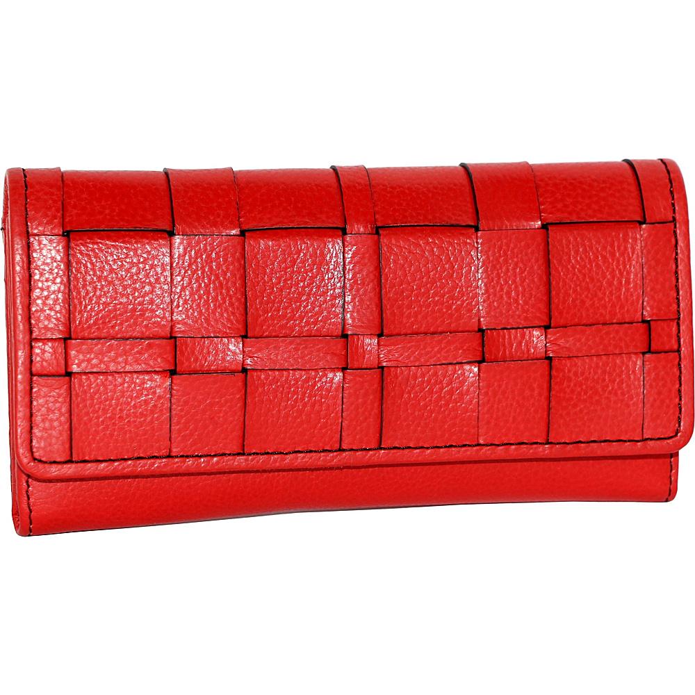 Nino Bossi Winona Wallet Red - Nino Bossi Designer Handbags - Handbags, Designer Handbags