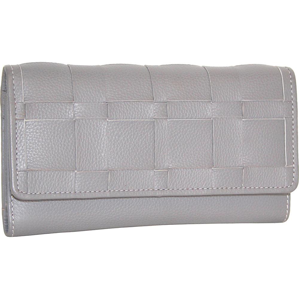 Nino Bossi Winona Wallet Stone - Nino Bossi Designer Handbags - Handbags, Designer Handbags