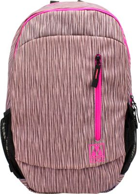 M-Edge Flex Backpack with Battery Pink - M-Edge Business & Laptop Backpacks