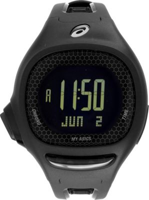 Asics Connect To MyAsics Watch Black - Asics Wearable Technology