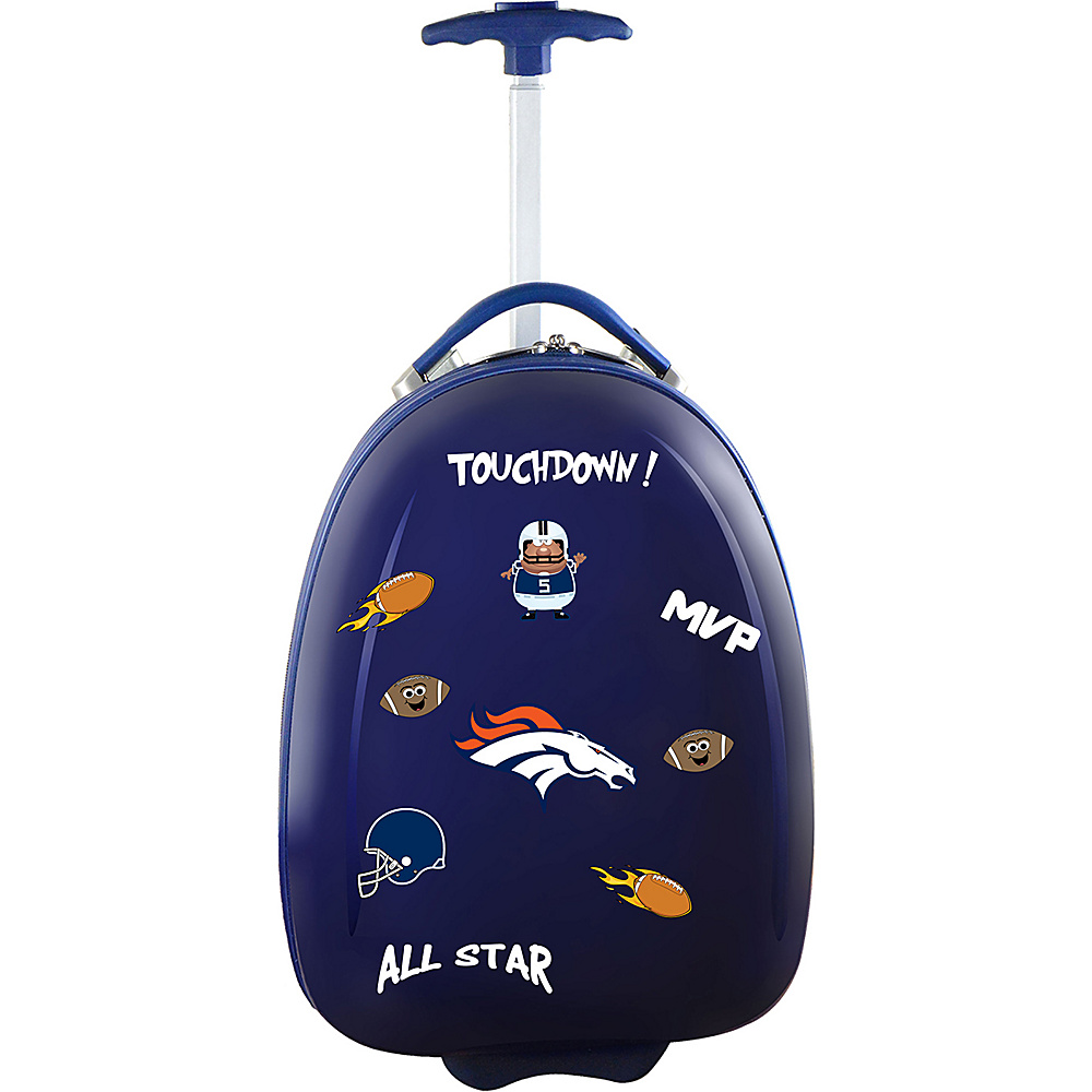 MOJO Denco Kids Luggage Pod Denver Broncos - MOJO Denco Kids Luggage - Luggage, Kids' Luggage